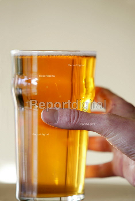 A pint of beer. - Paul Box - 2004-07-02