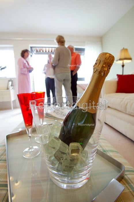 Crosby homes in Bristol celebrate the opening of new executive apartment development. - Paul Box - 2004-07-01