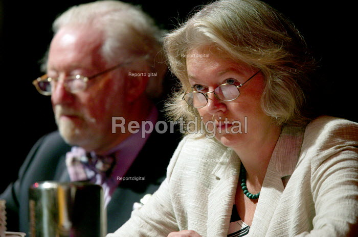 Petrina Holdsworth Party chairman UKIP conference. The Colston Hall, Bristol. - Paul Box - 2004-10-02
