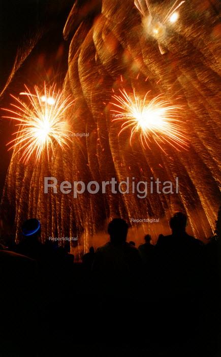 A firework display. - Paul Box - 2004-11-01