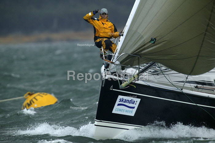 Yachts at Cowes week, Isle of Wight - Paul Box - 2005-12-05