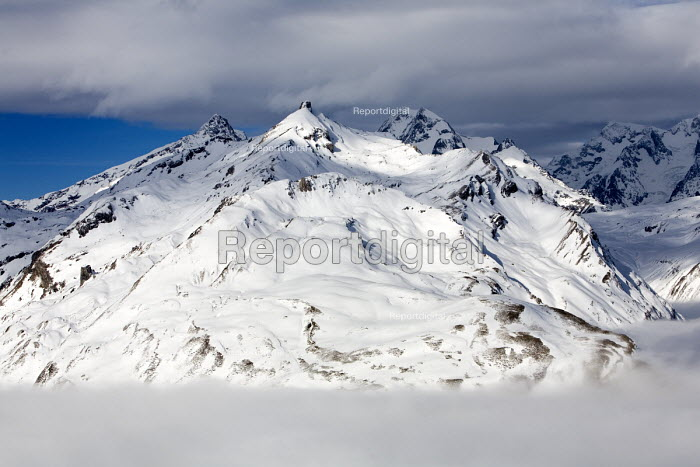 La Rosiere in the French Alps. With unseasonably warm... - Paul Box, PB701017.jpg