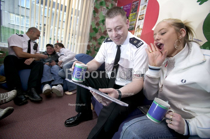 A community project to reduce crime in a urban area... - Paul Box, PB708451.jpg