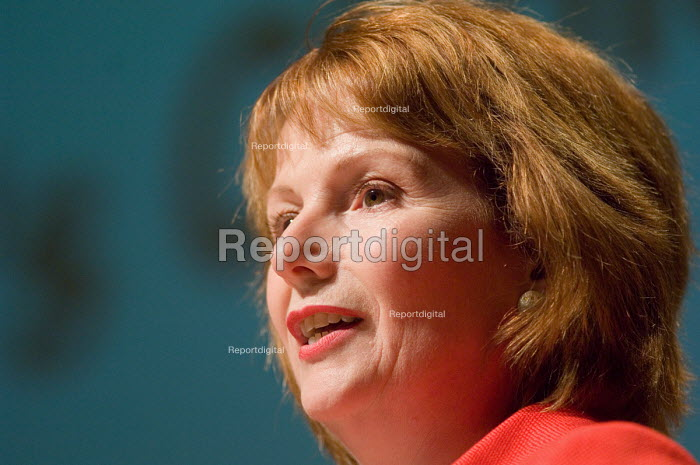 Labour Party Chair Hazel Blears MP, speaks at a Fabian... - Philip Wolmuth, pw070519.jpg