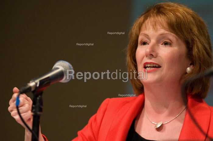 Labour Party Chair Hazel Blears MP, speaks at a Fabian... - Philip Wolmuth, pw070527.jpg