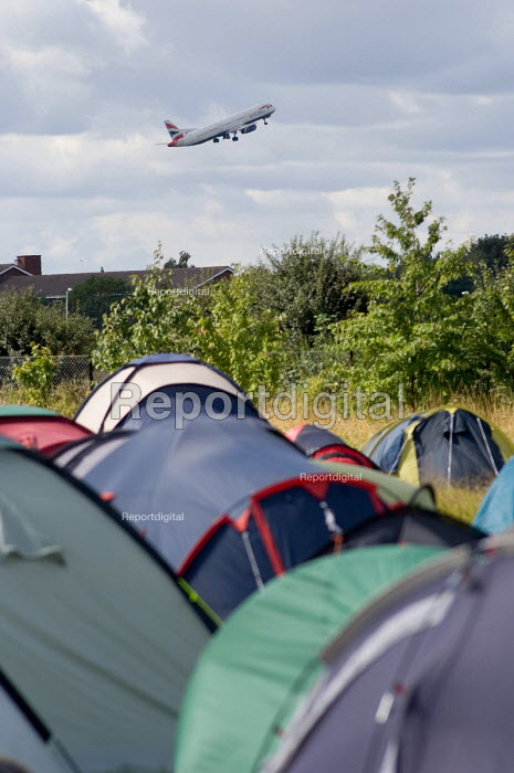 Camp for Climate Action at Heathrow, West London, the... - Philip Wolmuth, pw070807.jpg