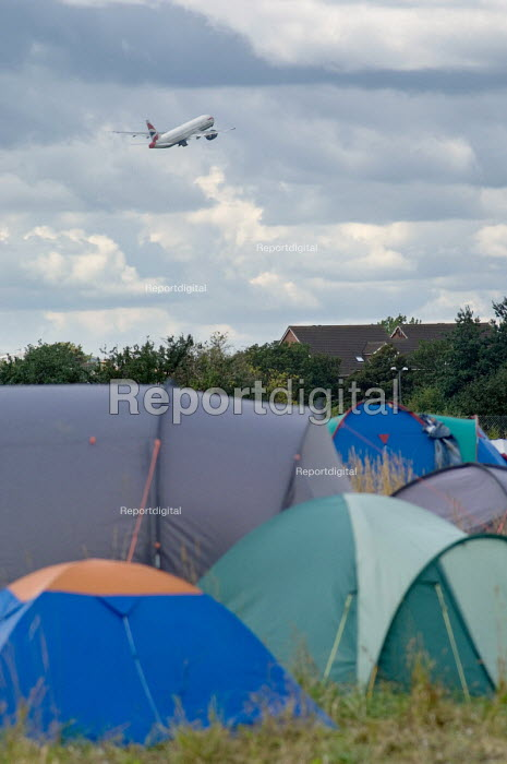Camp for Climate Action at Heathrow, West London, the... - Philip Wolmuth, pw070815.jpg
