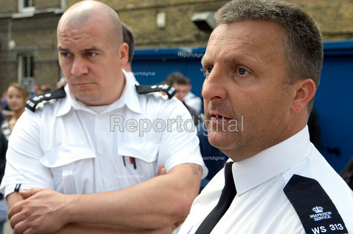 Members of the POA at HMP Wormwood Scrubs on 24 hour... - Philip Wolmuth, pw070843.jpg