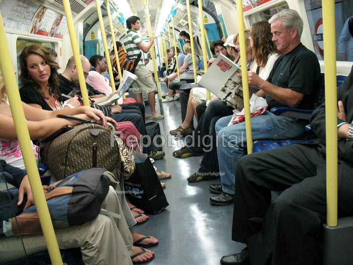 Passengers on the London underground. - Philip Wolmuth, pw070855.jpg
