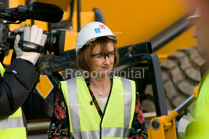 Olympic Minister Tessa Jowell MP at the launch of the... - Philip Wolmuth, pw080221.jpg