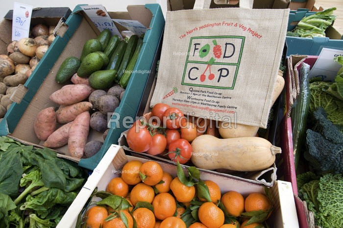 Fruit and vegetables for sale at a weekly food... - Philip Wolmuth, pw080908.jpg