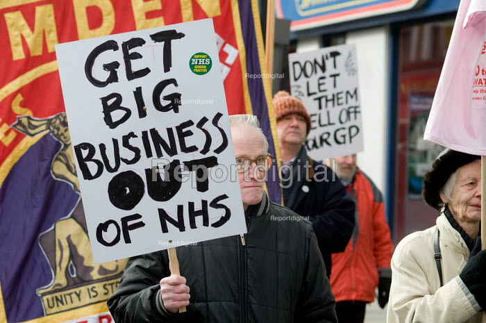 Demonstration organised by Camden Keep Our NHS Public to... - Philip Wolmuth, pw090230.jpg