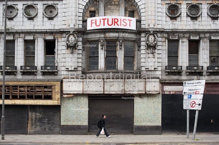 Empty cinema in central Liverpool. - Philip Wolmuth, pw090668.jpg