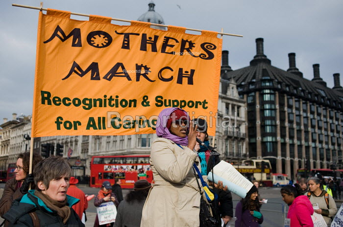 Mothers March to mark International Women's Day and... - Philip Wolmuth, pw100323.jpg