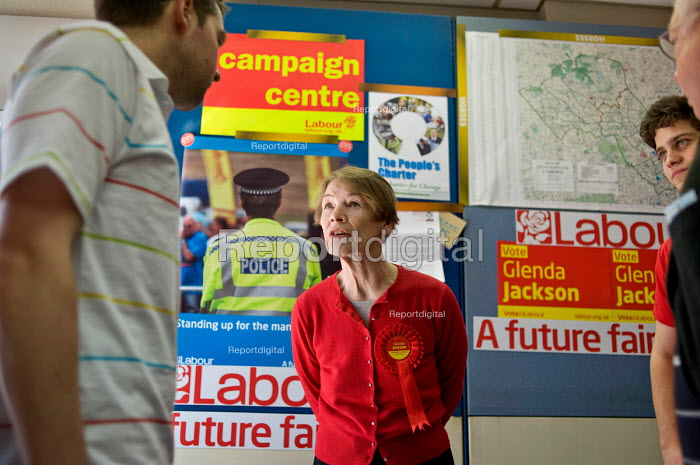 Labour MP Glenda Jackson talks with constituents and party... - Philip Wolmuth, pw100434.jpg