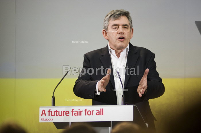 Gordon Brown, launch of Labour's Green Manifesto... - Philip Wolmuth, pw100473.jpg