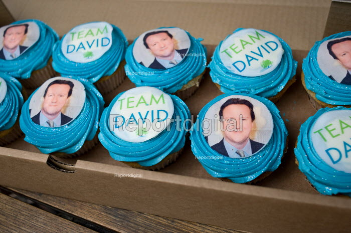 Cakes baked by a supporter of the Conservative... - Philip Wolmuth, pw100490.jpg