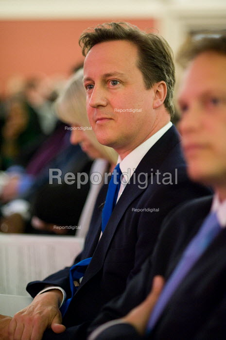 David Cameron, Citizens UK General Election Assembly, Central Hall, Westminster, London. - Philip Wolmuth - 2010-05-03