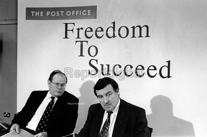 Mike Heron and Bill Cockburn (Chair and Chief Executive of the Post Office) respond to privatisation proposals. - Philip Wolmuth - 1994-06-30