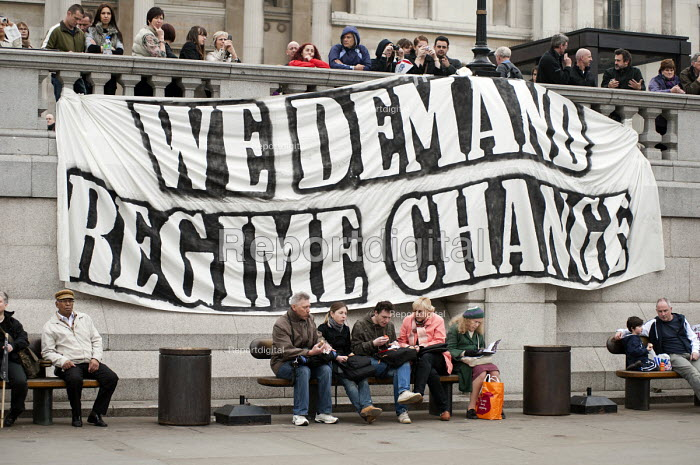 We demand regime change. TUC March for the alternative. Jobs, Growth and Justice. London - Philip Wolmuth - 2011-03-26