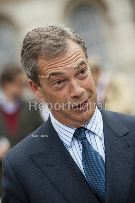 UKIP Leader Nigel Farage. The Taxpayers Alliance Rally against Debt, Westminster. - Philip Wolmuth - 2011-05-14