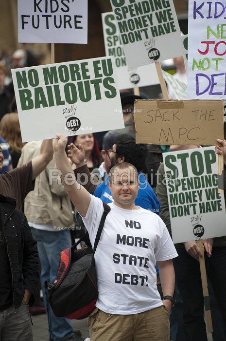 No More State Debt. The Taxpayers Alliance Rally against Debt, Westminster. - Philip Wolmuth - 2011-05-14