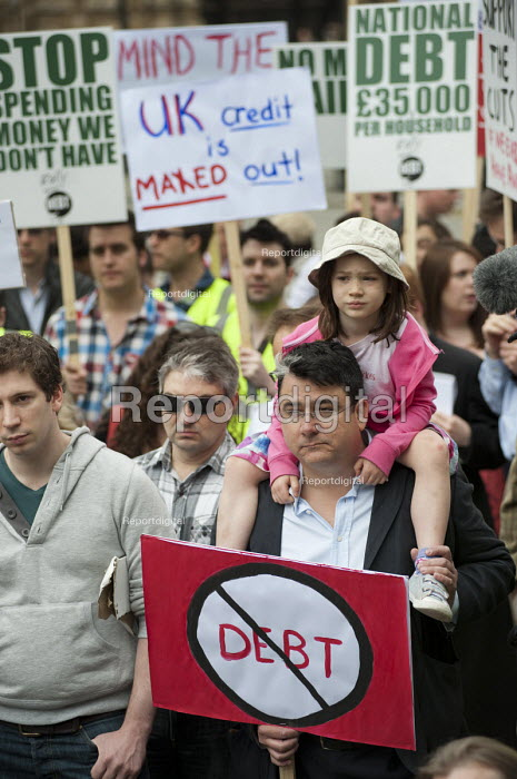 The Taxpayers Alliance Rally against Debt, Westminster. - Philip Wolmuth - 2011-05-14