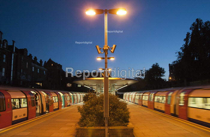 West Hampstead tube station at dusk. - Philip Wolmuth - 2011-05-09