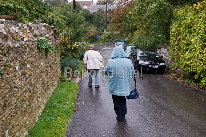 Langton Herring village, Dorset. - Philip Wolmuth - 2010-10-26
