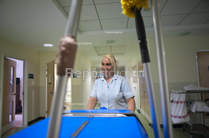At Musgrave Park Hospital all cleaning and ancillary staff are directly employed by Belfast Health and Social Care Trust, following the expiry of a 15 year contract with Mediclean in 2010. - Philip Wolmuth - 2011-08-05