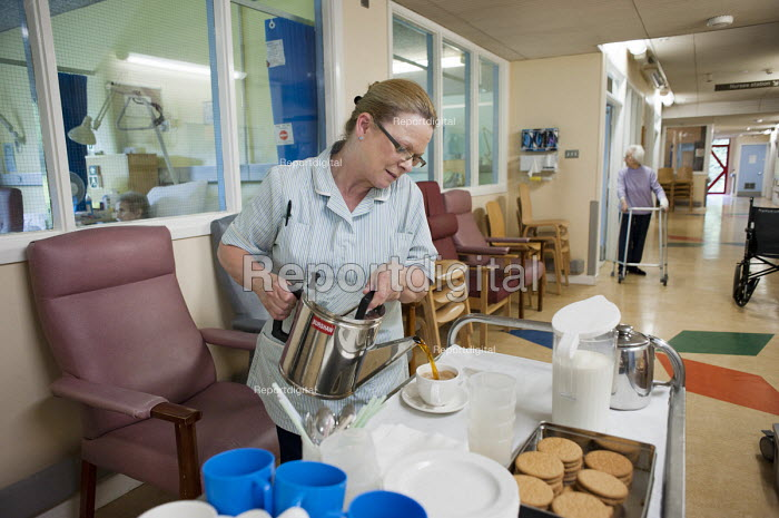 At Musgrave Park Hospital all catering and ancillary staff are directly employed by Belfast Health and Social Care Trust, following the expiry of a 15 year contract with Mediclean in 2010. - Philip Wolmuth - 2011-08-05