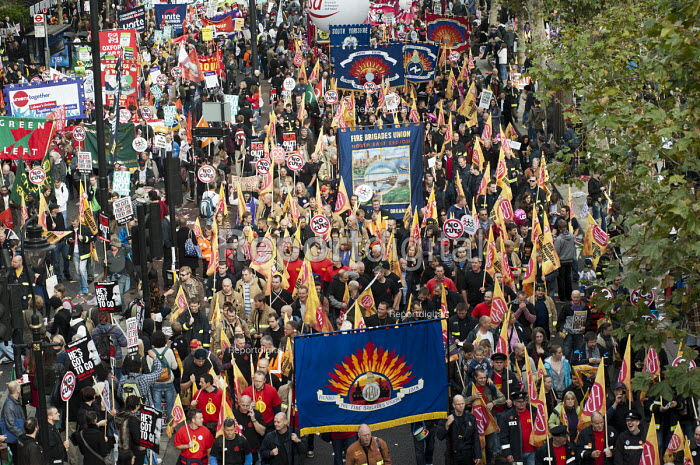 A Future that Works: TUC march and rally against austerity, London. - Philip Wolmuth - 2012-10-20