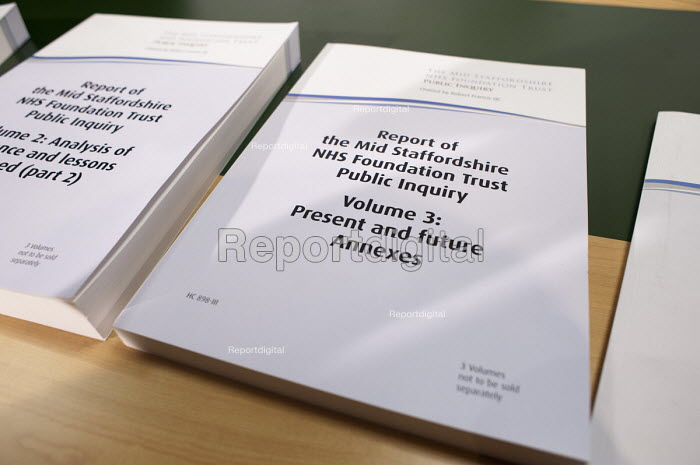 Public Inquiry Report into the Mid-Staffordshire NHS Foundation Trust Westminster, London. - Philip Wolmuth - 2013-02-06