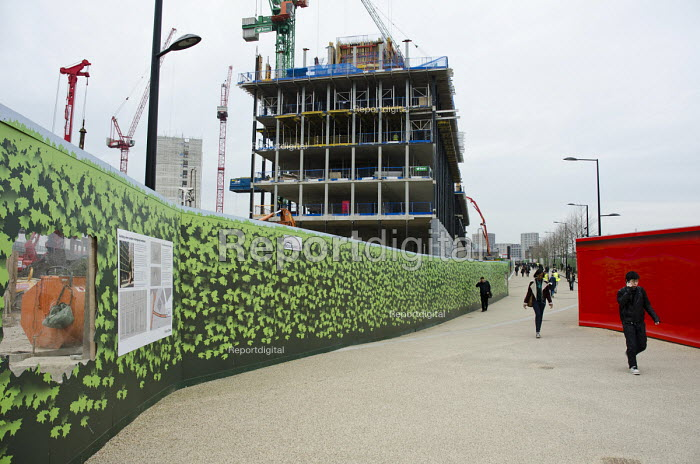 Pancras Square, part of the residential and office redevelopment of King's Cross, London. - Philip Wolmuth - 2013-03-06