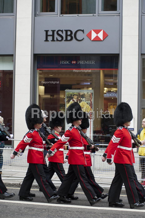 Funeral of ex-Prime Minister Margaret Thatcher, City of London. - Philip Wolmuth - 2013-04-17