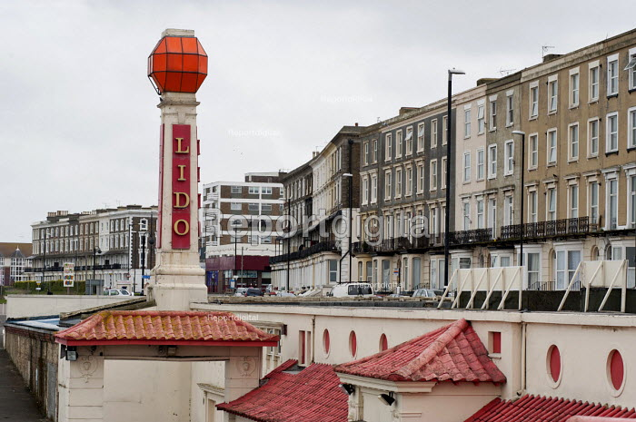 Guesthouses and hotels in Cliftonville, Margate, once a sought-after holiday resort, are now used to house homeless families. - Philip Wolmuth - 2013-04-16