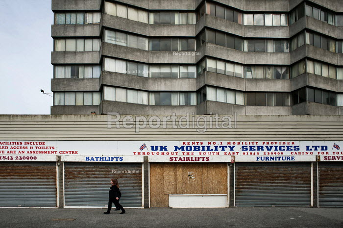 Empty shops in Margate, Kent. - Philip Wolmuth - 2013-04-16