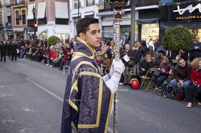 La Magna Maria, a parade of statues of the Virgin Mary through the streets of Granada to mark the 100th anniversary of the canonisation of Nuestra Senora de las Augustias as patron saint of the city. - Philip Wolmuth - 2013-05-18