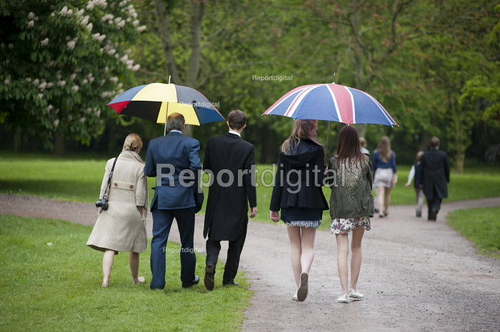 Schoolboy and family at Eton College. - Philip Wolmuth - 2013-05-29