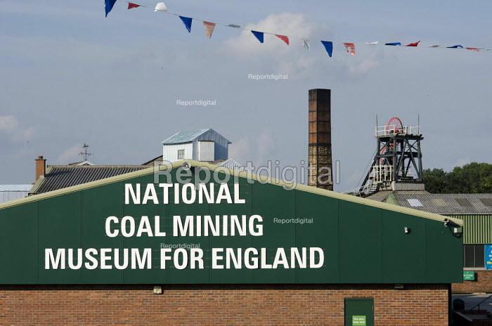 The National Coal Mining Museum for England, formerly Caphouse Colliery, in Overton, West Yorkshire. The pit, just outside Wakefield, closed in 1985. - Philip Wolmuth - 2013-08-07