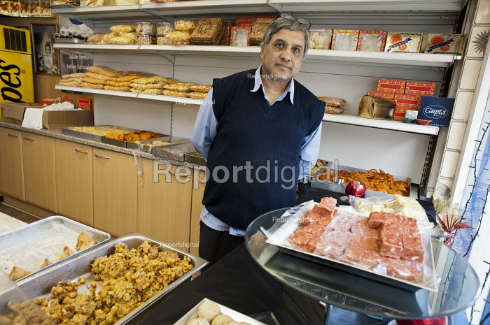 Jain Gupta opened Gupta Confectioners in Drummond Street in 1983. His business is now within the Safeguarding Area immediately adjacent to the HS2 high-speed rail construction site at Euston station and is likely to become unviable once work starts in 2017. Residents in the area are demanding compensation for the 10 years of construction work on the same basis as affected residents in rural areas. - Philip Wolmuth - 2013-04-30