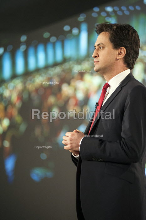 Ed Miliband MP. Labour Party Special Conference on reform of its link to trade unions, ExCel Centre, London. - Philip Wolmuth - 2014-03-01