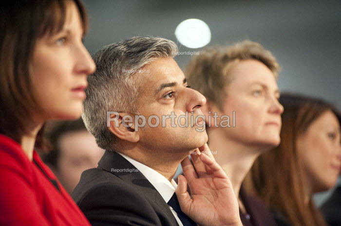 Sadiq Khan MP. Labour Party Special Conference on reform of its link to trade unions, ExCel Centre, London. - Philip Wolmuth - 2014-03-01