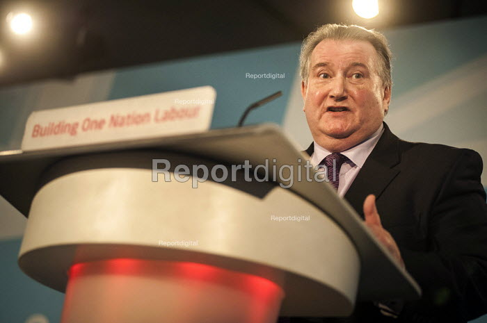 Paul Kenny GMB. Labour Party Special Conference on reform of its link to trade unions, ExCel Centre, London. - Philip Wolmuth - 2014-03-01