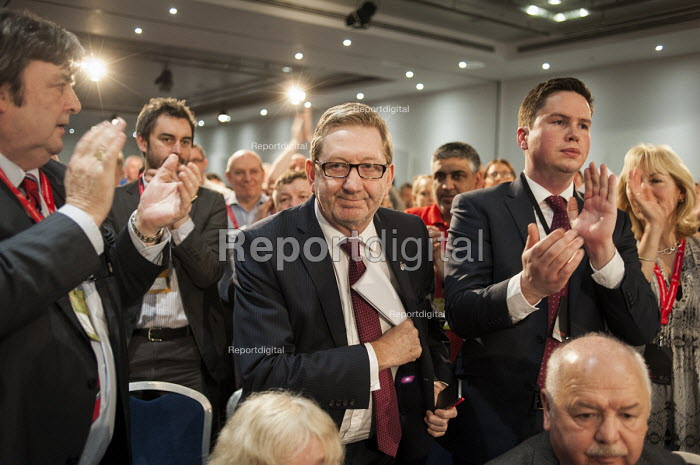 Len McCluskey, Unite. Labour Party Special Conference on reform of its link to trade unions, ExCel Centre, London. - Philip Wolmuth - 2014-03-01