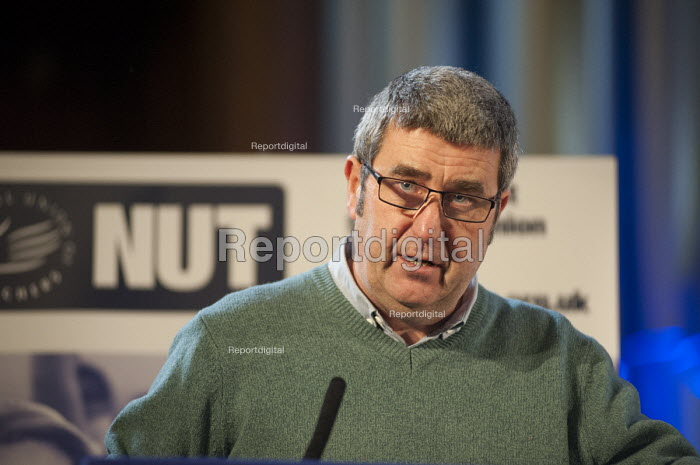 Alex Kenny NUT, Central Hall, Westminster. . Teachers one-day national strike called by the NUT over pay structures, pensions and working hours. - Philip Wolmuth - 2014-03-26