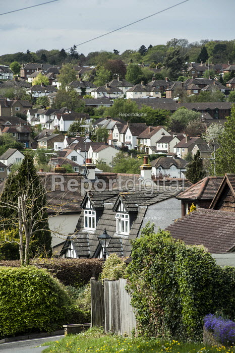 High value housing in the village of Chalfornt St Peter in the Chiltern District of Buckinghamshire. - Philip Wolmuth - 2014-04-23