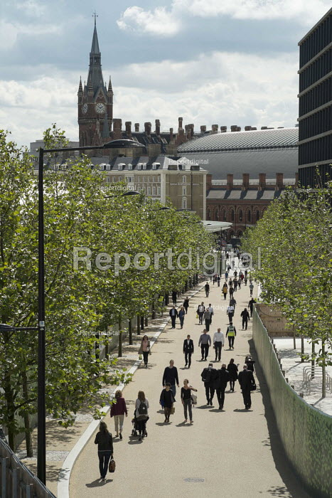 The Pancras Square development at Kings Cross, London - Philip Wolmuth - 2014-08-18