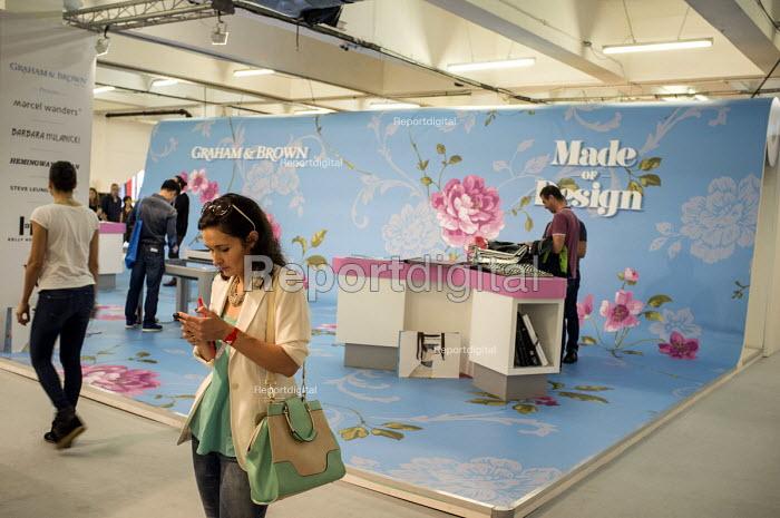 Stall at London Design Week, Truman Brewery, Brick Lane, London - Philip Wolmuth - 2014-09-20