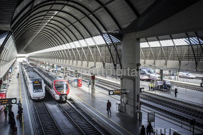 Santa Justa railway station, Seville, Spain. - Philip Wolmuth - 2015-03-13